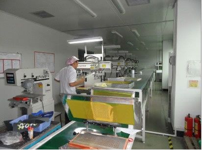 Silkscreen printing, printing, spraying workshop