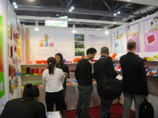 Silicone baking mat Products Exhibition on 2012