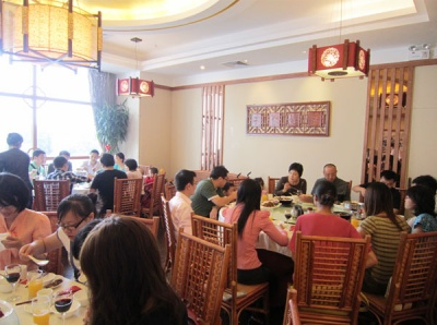 New Year's eve family dinner of Hanchuan in 2012