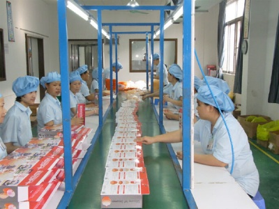 Product packaging workshop