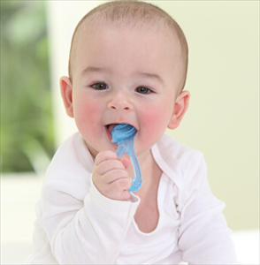 Will it be harmful for six month's baby to bite silicone teether?