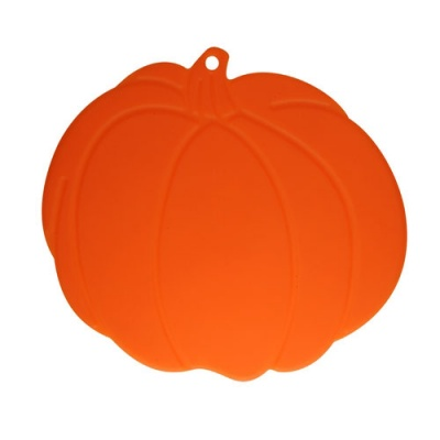silicone cup mat with pumpkin shape