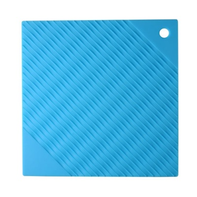 silicone heat-resistant mat of rectangle shape silicone pot holder