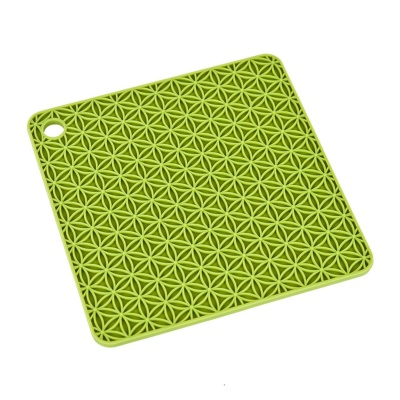 Square silicone rubber heat resistant pad