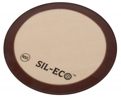 20cm round Sil-Eco silicone baking mat