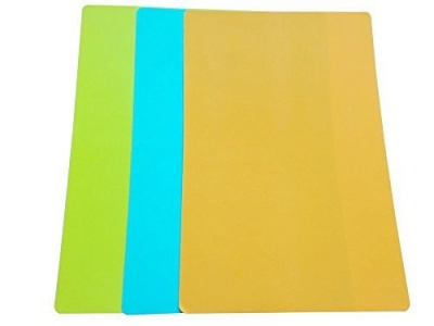 Silicone heat resistant work table mat