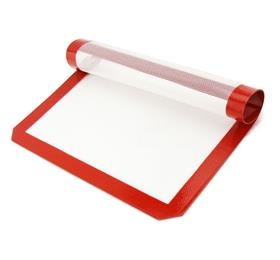 oven safe silicone baking mat coated with fiberglass