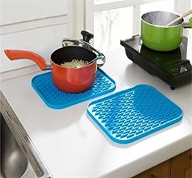silicone heat insulated pad drying mat