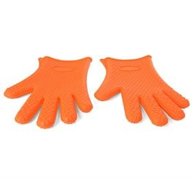 five fingers silicone gloves