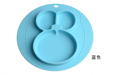 cartoon creative baby silicone placemat