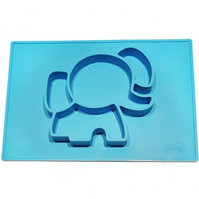 silicone elephant baby placemat