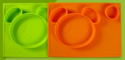 baby silicone one-piece placemat
