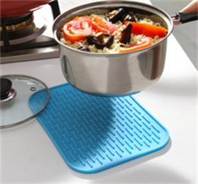 silicone on-slip insulation mat tableware pot