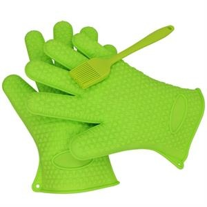 heatproof silicone gloves for grilling