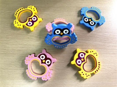 new design silicone owl teething toys