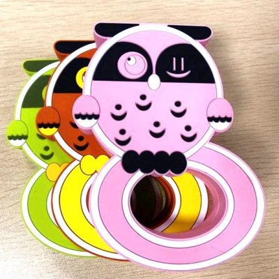 USSE Baby Teething Toys BPA Free Silicone Owl Teether