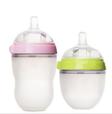 baby fda approved siliconefeeding bottle