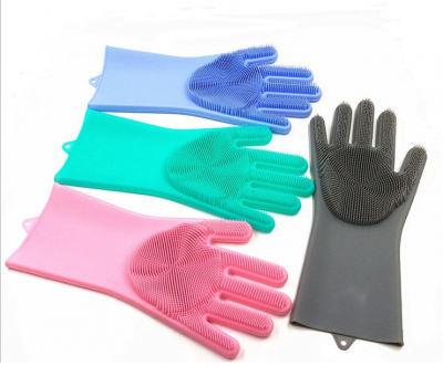 2019 USSE new trend silicone magic dishwashing washing Oven Gloves