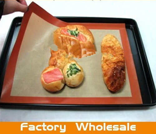 silicone baking mat with fiberglass
