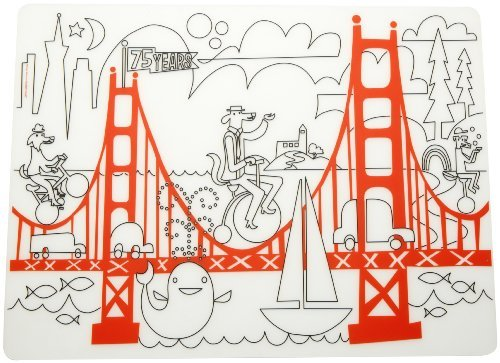 Modern-twist Kids Mark-Mat Silicone Coloring Placemat
