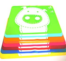 silicone dining table mat for kids