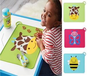 little kid and toddler food-grade silicone placemat