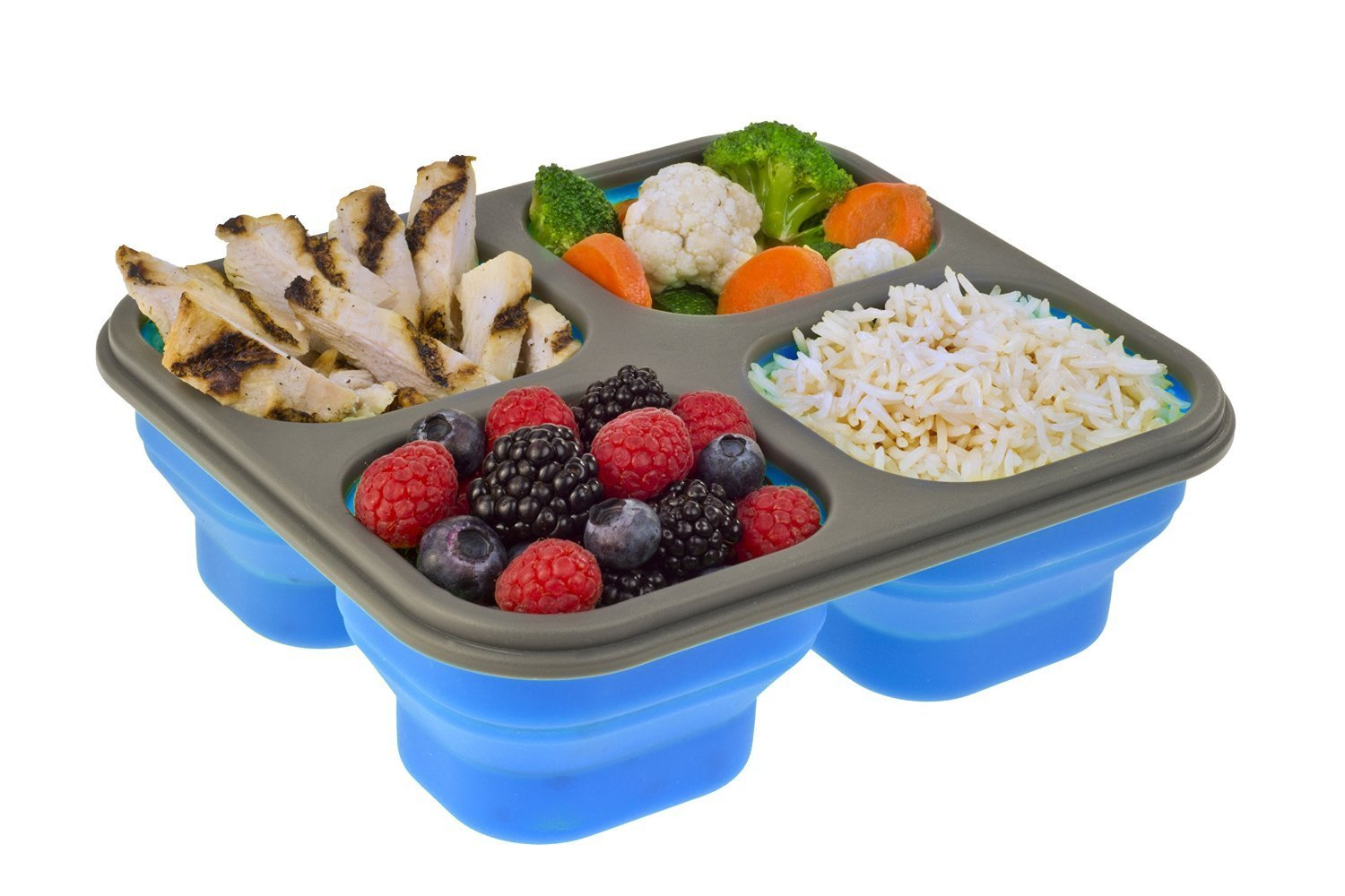 FDA & LFGB silicone lunch box for kids