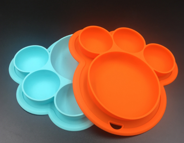 bear paw silicone plate