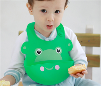 Wipes Clean Easily Silicone Baby Bibs for Toddlers